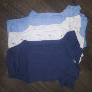 H&M baby boy bundle of 3 bodysuits